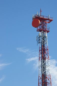 Free Antenna On Blue Sky Stock Photo - 5727580