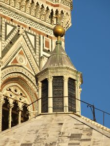 Free The Top Of The Baptistery Stock Image - 5727801
