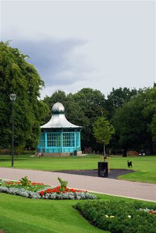 Free The Park Pavilion Royalty Free Stock Photos - 5728348