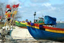 Free Fishing Boat Royalty Free Stock Photos - 5729698