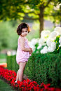 Free Girl In Flower Garden Royalty Free Stock Photography - 5731337