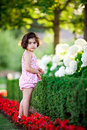 Free Girl In Flower Garden Royalty Free Stock Photo - 5731345