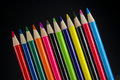 Free Colored Pencil Crayons On A Slant Royalty Free Stock Image - 5731496