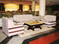 Free Sofa And Armchairs With Table In Hall Of Hotel Stock Photos - 5732693