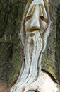 Free Carved Wood Face Royalty Free Stock Photos - 5735978