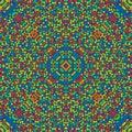 Free Radiating Colors Seamless Pattern Stock Image - 5736641