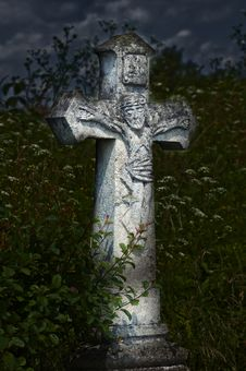 Free Crosses On The Cemetory Royalty Free Stock Image - 5730006
