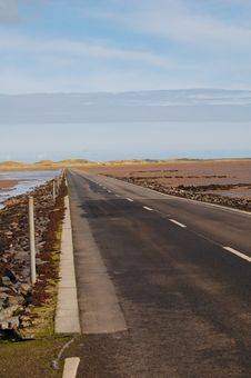 Free The Road To Holy Island Stock Images - 5730014