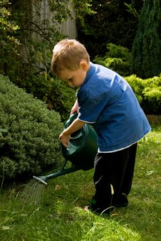 Free Little Gardener Royalty Free Stock Images - 5730149