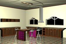 Free Modern Kitchen Stock Photo - 5730410
