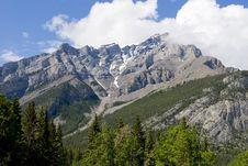Free Banff Rockies Stock Image - 5730821