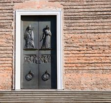 Free Entrance Door And Wall Of St. Justine Basilica Royalty Free Stock Image - 5731126