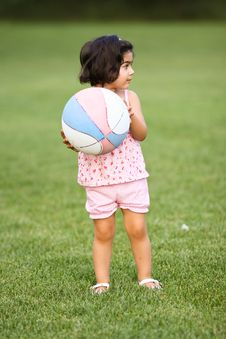 Free Little Soccer Player Royalty Free Stock Photography - 5731217