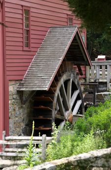Free Water Wheel Stock Image - 5731301