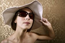 Free Woman With Sunglasses Royalty Free Stock Photo - 5731355
