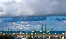 Free Harbor View Stock Image - 5731841