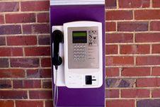 Free Phone On Brick Wall Stock Photo - 5731900