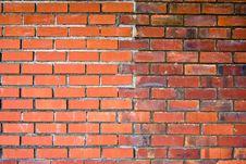 Free Brick Wall Royalty Free Stock Photos - 5731908