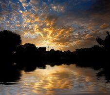 Free Morning Sunrise Reflected Wate Stock Photo - 5732250