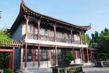The Ancient Chinese House Royalty Free Stock Images