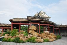 Free The   Chinese Garden Rockeries Royalty Free Stock Photos - 5732818