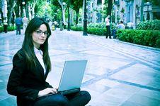 Free Businesswoman Portrait Stock Image - 5732831