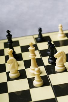 Board Game -chess Stock Photo