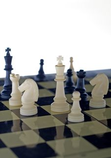 Board Game -chess Royalty Free Stock Photos
