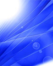 Elegant Blue Background Stock Image