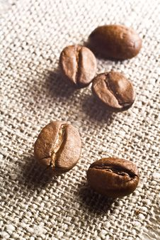 Free Coffee Grains Royalty Free Stock Image - 5735926