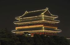 Free Night Scene Of Ancient Building Stock Photography - 5736022