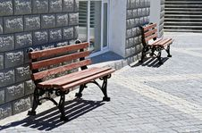 Free Lonely Benches Stock Photography - 5736062