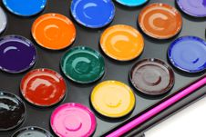 Free Paintbox Royalty Free Stock Image - 5736106