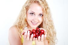 Free Cherry In Mouth Stock Photos - 5736413
