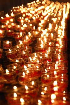 Free Church Candles III Royalty Free Stock Images - 5736719
