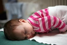 Free Sleeping Baby 01 Royalty Free Stock Image - 5736936