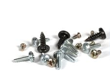 Free Screws Royalty Free Stock Photo - 5737105