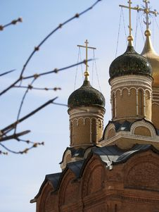 Free Moscow Church Royalty Free Stock Photography - 5737157