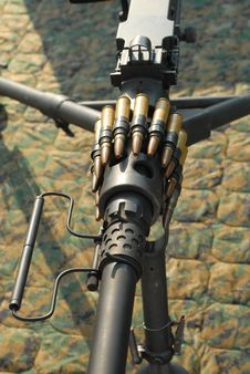Free M2 Heavy Machine Gun Stock Image - 5737631