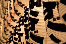 Free Japanese Lanterns Royalty Free Stock Photos - 5737768