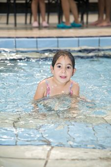 Free Girl In Swimming Pool Royalty Free Stock Images - 5738789