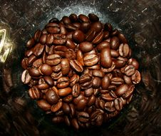 Free Coffee Beans In A Jar Stock Photos - 5738983