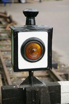 Free Old Railway Lantern Stock Image - 5739061