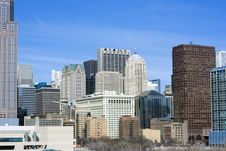 Free From The South Side - Office Buildings Stock Photo - 5739110