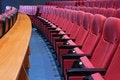 Free Empty Cinema Seats Stock Image - 5743361
