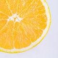 Free Isolated Orange Slice Royalty Free Stock Photos - 5746938