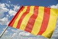 Free Yellow Flag. Royalty Free Stock Image - 5749166