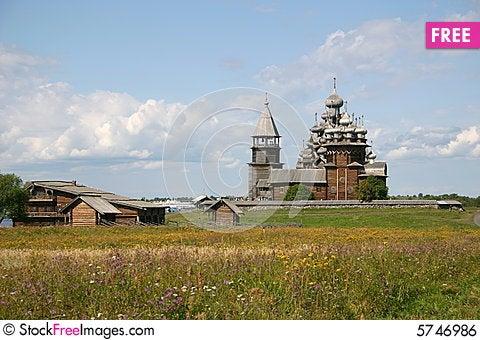 Free Kizhi Pogost Royalty Free Stock Image - 5746986