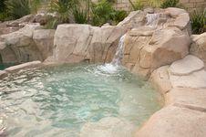 Free Tropical Custom Pool Jacuzzi Stock Photos - 5740283