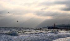 Free Evening Sea Stock Photos - 5740913